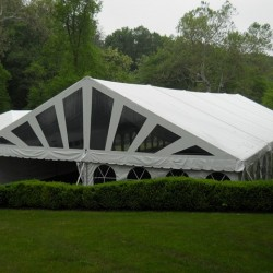 frame tents specifications