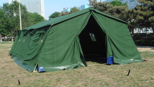Refugee Tents - Canvas Frame Tent