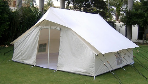 Disaster Tents for Sale - Cottage Ridge Canvas Tents
