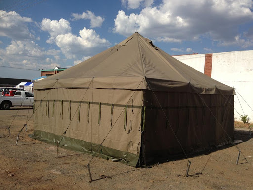 Military Tents - 5M X 5M Hip Roof Tent