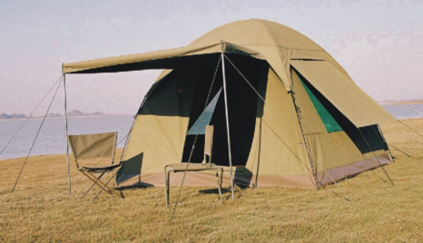 Military Tents - Canvas Bow Tent